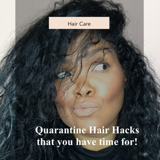 Quarantine Hair Mask Hacks You Now Have Time For!